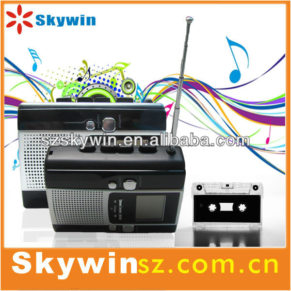 portable mini hi-fi musical systerm Old style usb cassette walkman player