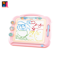 education & training toy set doodle sketch erasable pad magnetic drawing board for kids