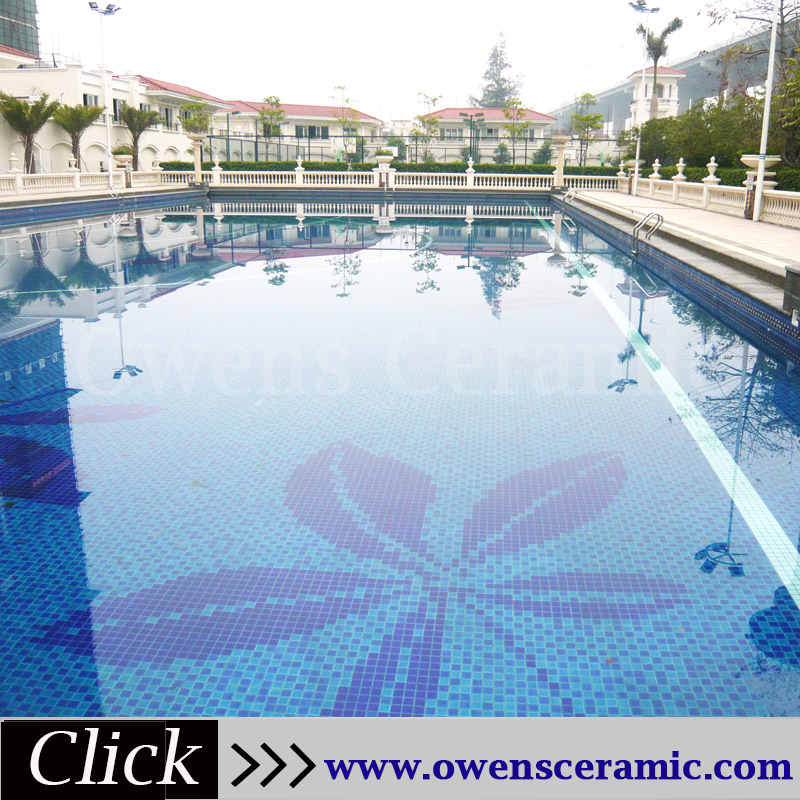Flower Swimming Pool Tile, Flower Swimming Pool Tile Suppliers And  Manufacturers At Alibaba.com