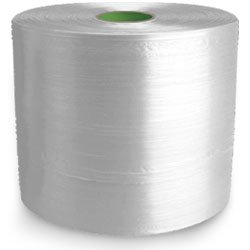 Twine - PP Film Tape Twine - Clear - 10660', Size: D-28, 35 lbs Tensile, 4# Tube (10 Tubes) - CWC-046010