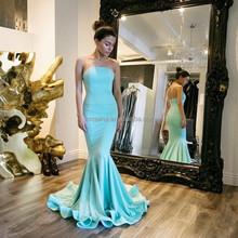 Wholesale Sexy Mermaid Evening Dresses 2017 Sleeveless Mint Green Evening Prom Dress Alibaba China Dress