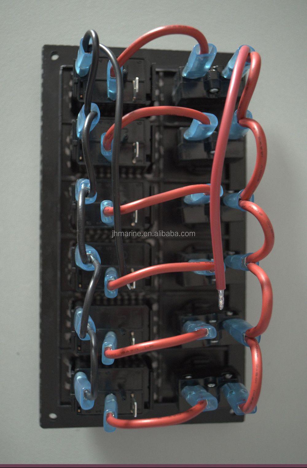 HTB12HZyGXXXXXc7XFXXq6xXFXXXf dc12v 6 gang marine switch panel,rocker switch panel,rocker switch Boat Switch Panel Wiring Diagram at couponss.co