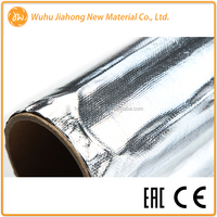 Electric aluminum foil underfloor heating mat