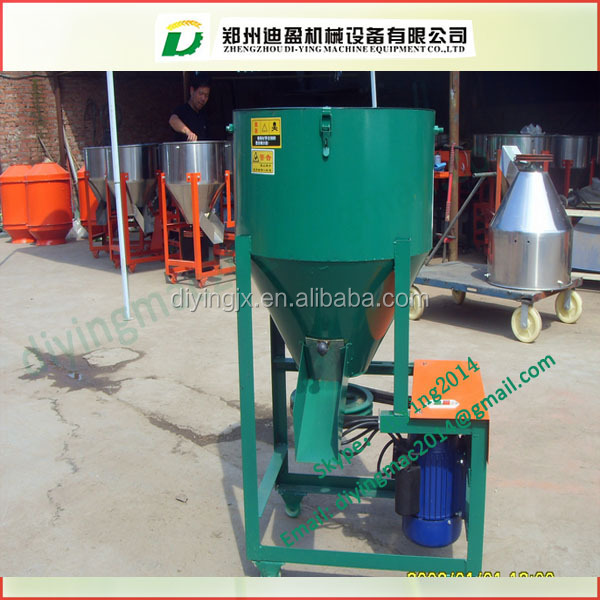 Small size Stainless steel feed mixing machine/ Poultry feed mixer / pig farm feed mixer