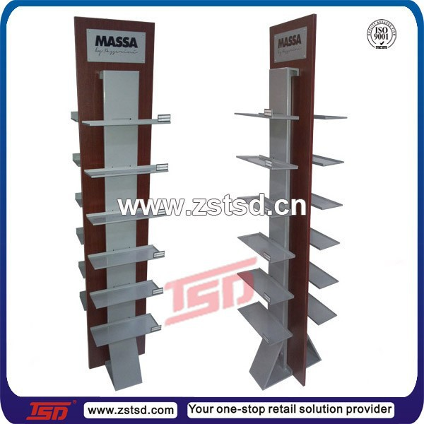 8f3e270a869f TSD-W652 factory custom retail shop wooden shoe display stand wooden shoe  display rack
