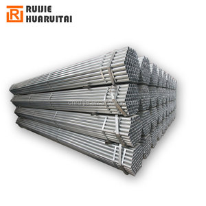 Galvanized agricultural irrigation pipe, galvanized pipe for building, gi round steel tube