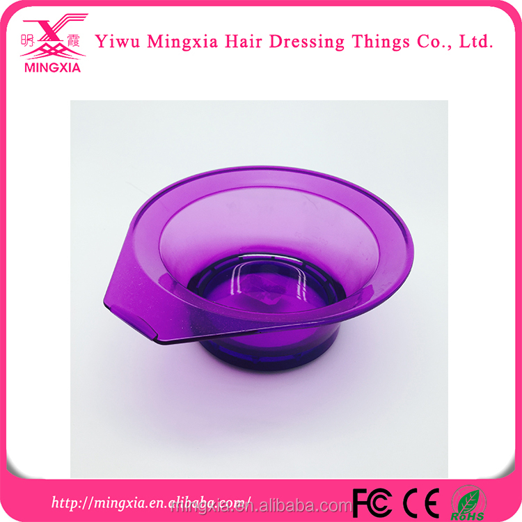 China Wholesale plastic hair tinting dyeing color bowl