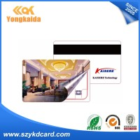 Promotional em4200 memory card printing credit card sized strip PVC magnetic card