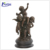 Alibaba hot sale life size cherubs bronze angel sculpture NT-BS187K