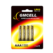 GMCELL Gros Zn Mn Pile alcaline <span class=keywords><strong>AA</strong></span> <span class=keywords><strong>AAA</strong></span> C D 9 V