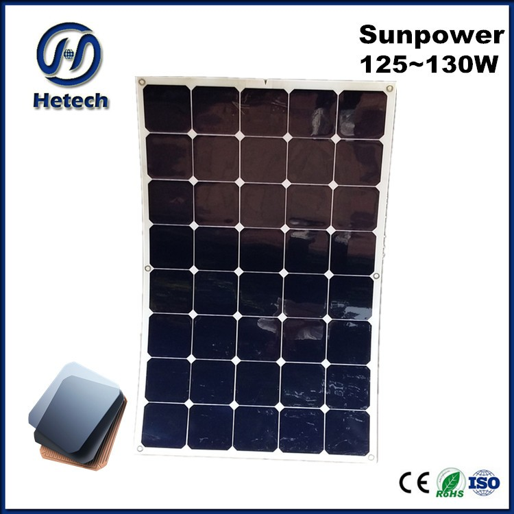perfect to use on yacht 130w flexible inexpensive solar panels