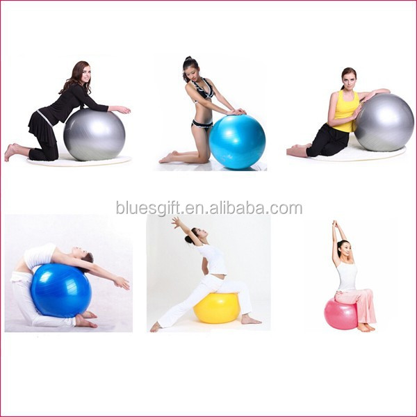 2015 newest wholesale anti burst yoga ball
