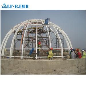 Good Quality Prefabricated Geodesic Steel Structure Dome House