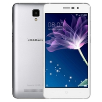 Dropshipping cheap factory price mobile phone 512MB+8GB 3360mAh 5.0 inch Android 6.0 Network: 3G, DOOGEE X10 smartphone