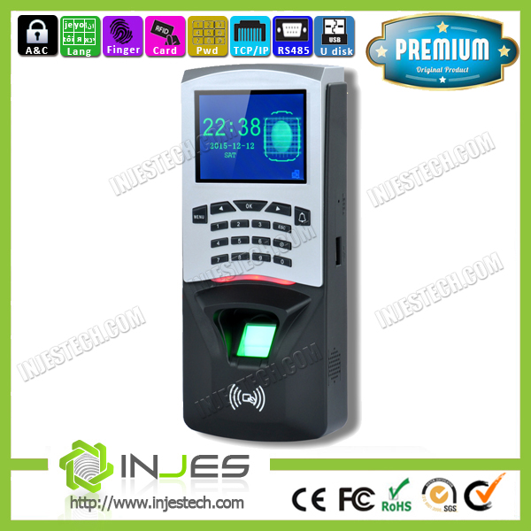 Waterproof TFT Screen Network Biometric Role Based Access Control (MYM7)
