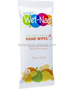OEM wet wipes can be customized by client