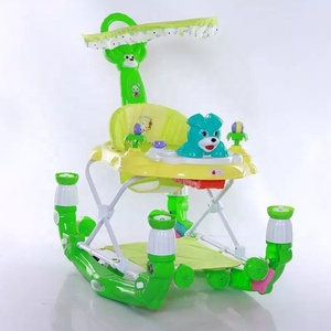Modern infant walker/ multifunction plastic baby walker with music
