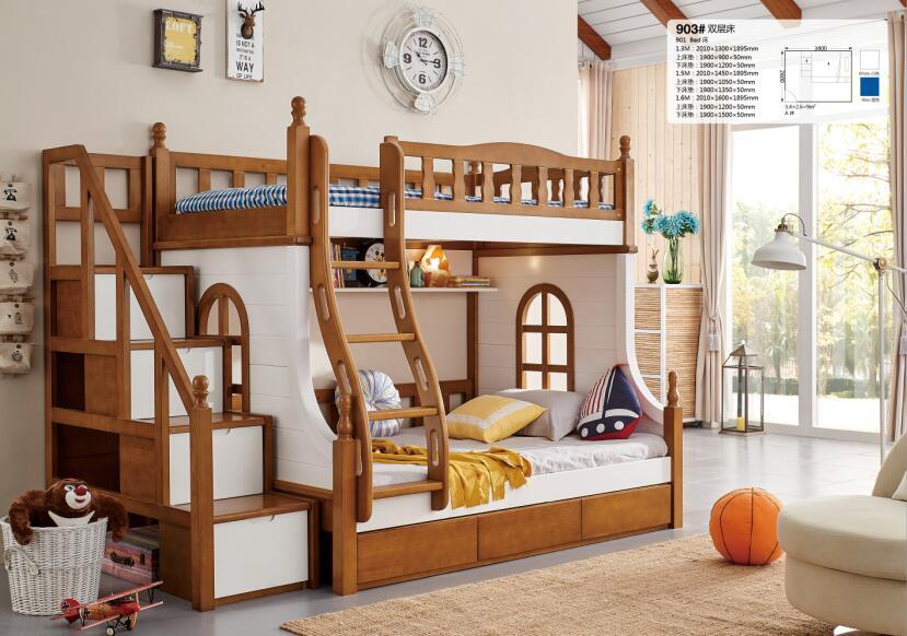 Madera creativa doble litera para ni os y madre buy cama for Literas originales y baratas
