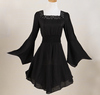 2016 new collection of high quality ladies' tunic tops black white