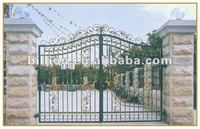 china factory painting gate iron design picture