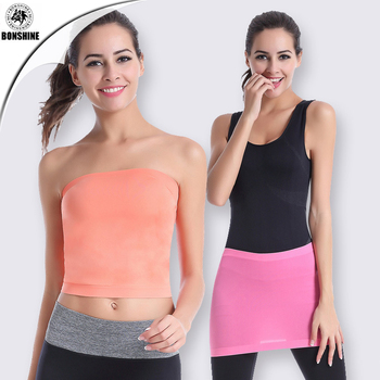 Quick - drying multi - functional to prevent embarrassment yoga sports wrapped chest neck wrapped skirt WA13