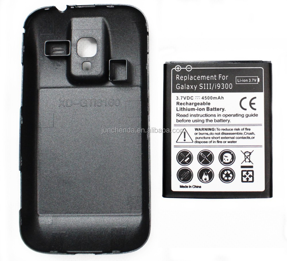 I9300 External battery for samsung galaxy s3 4500mAh EB-L1G6LLU backup battery for samsung galaxy s3 with fast shippping