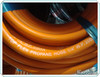 flexible orange gas LPG rubber hose