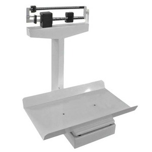 60kg weight beam infant mechanical scale/ hospital medical mechanical baby ruler weigher