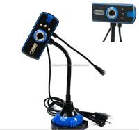 Wholesale Price Free Driver Webcam Laptop Camera/Web Cam/USB PC Camera With Lights & Mic
