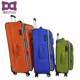 Classical leaves king luggage travel set trolley luggage bag