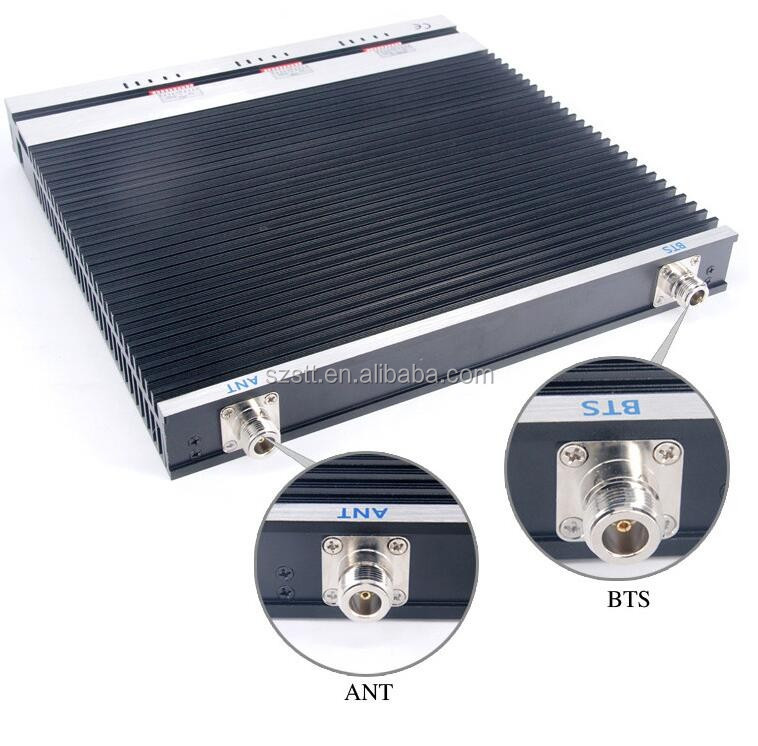 Tri-band network signal booster,wireless signal enhancer amplifier gsm 900 1800 3G 2100mhz mobile signal booster