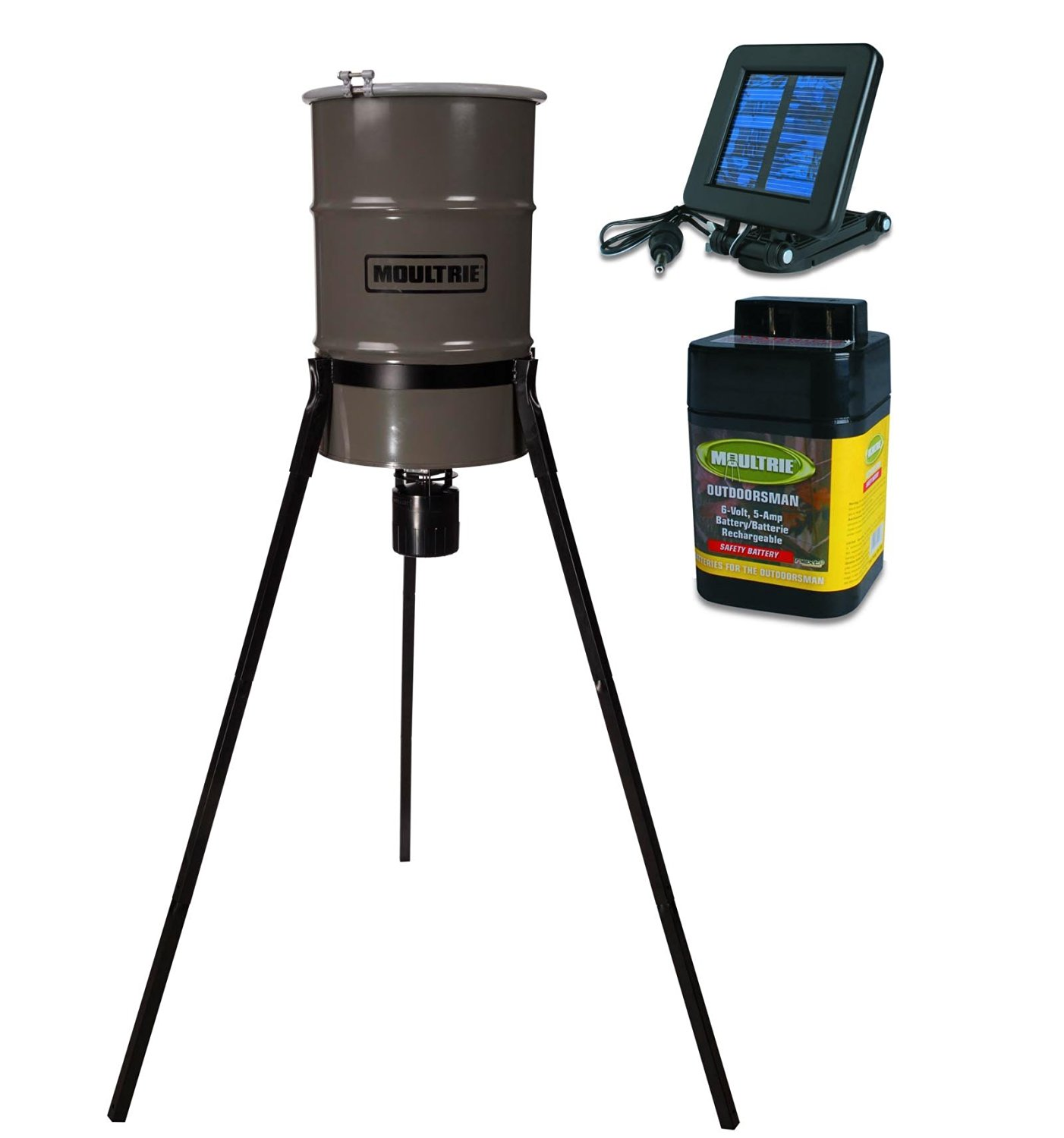 moultrie hung youtube watch at deer small feeder camp up