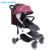 ZHILEMEI Water-proof Aluminum Alloy Leather Fabric New Baby Stroller