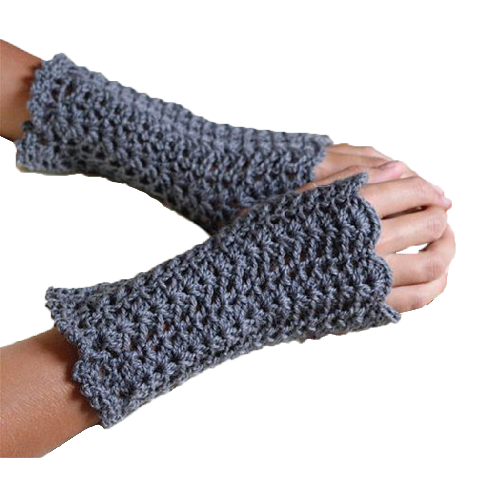 Anboo Lovely Thicken Infant Baby Kids Winter Warm Knitted Gloves