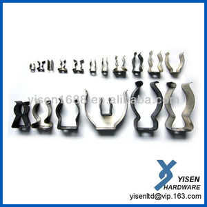 high quality different types spring steel clips