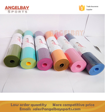 Wholesale 0.6mm Premium Non slip Two layer TPE yoga mat