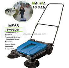 leaf sweeper MS68 help clean sweeper manual sweeper in yongkang