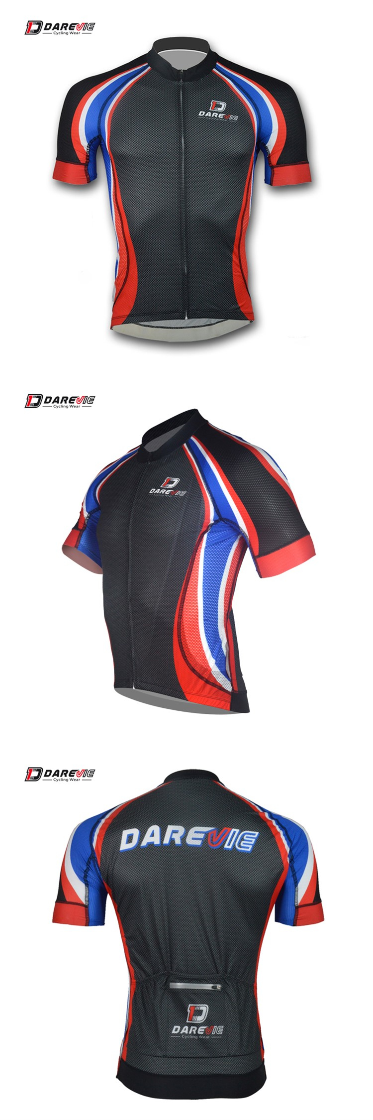 Wholesale Darevie OEM Professional level Carbon Cycling Jersey