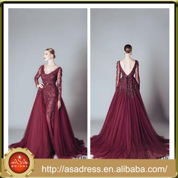 Ald06 Romantic Lace Applique Prom