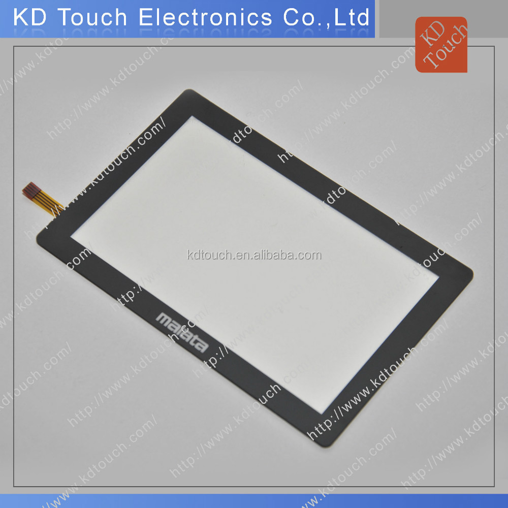 Customized 1.9 inch -32 inch projective capacitive multi touch panel with overlay