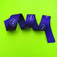 Newest style 100 percent polyester handmade satin ribbons