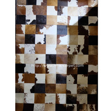 Best Quality Patchwork Cowhide bedrooms rug