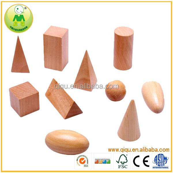 2015 New Wooden Toys Early Childhood Teaching Montessori Geometry Sensory Aids