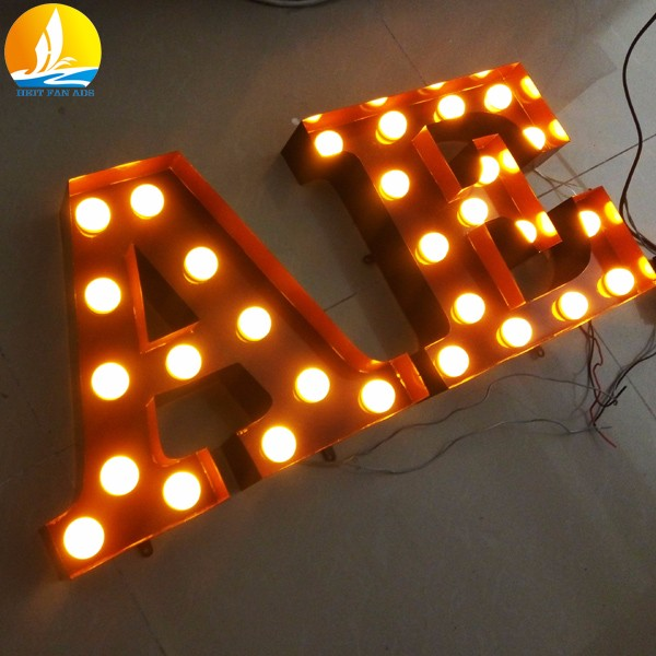 metal letter customized led letter lights factory price 3d letter