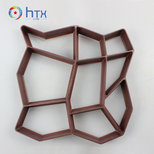 Plastic Paving Moulds Garden Pathway Brick Stone Form