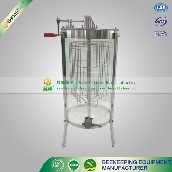 3frames manual transparent acrylic plastic honey extruder