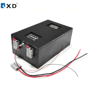 AGV Battery Charging 48V 40Ah lithium LiFePO4 battery pack with RS485 communication