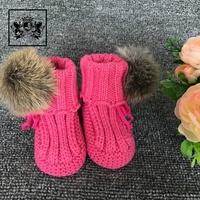 2018 Baby Comfortable Handmade Baby Won Shoes Toddler Booties Crochet Pattern