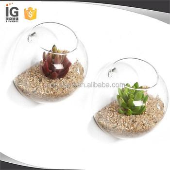 Wall Bubble Terrariumwall Glass Vase For Home Decorhouse Ornament
