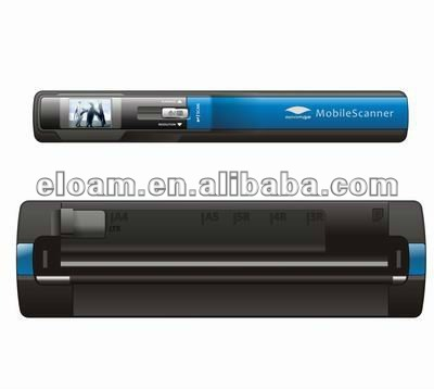 New 2013 digital slide scanning snap on scanner with own backlight CIS Sensor type support 32GB SD card USB and batteries power